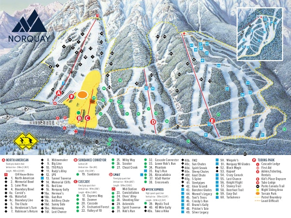 map of utah ski areas with Mountnorquay on Brighton Utah additionally Trail Maps besides 112 also 2008 11 01 archive together with Trail Map.
