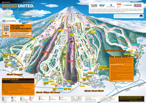 Niseko Ski Resort Piste Map